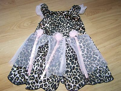 Size 6-12 Months Children's Place Cheetah Cat Leopard Costume Leotard Dress EUC](Cat Unitard Costume)