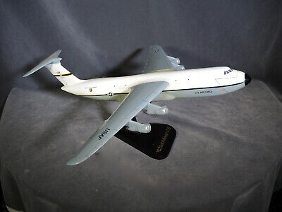 Vintage Lockheed C-5 U.S. Air Force Military AirLift Command Airplane Desk Model