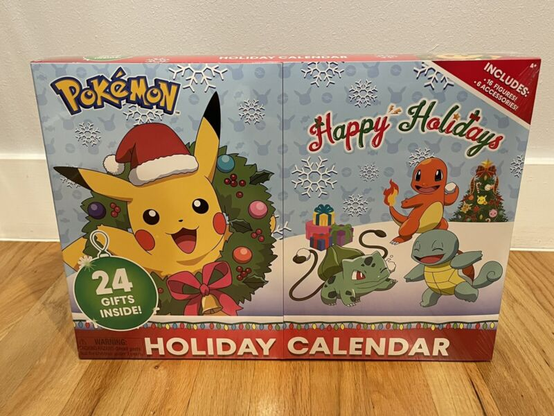 POKEMON 2020 Christmas Holiday Advent Calendar- Special First Edition 🔥