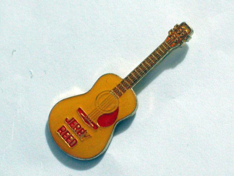 Jerry Reed Guitar Pin,  Vintage Lapel Pin