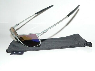Oakley Square Wire New Blue Polarized Sonnenbrille Whisker Clifden Tailhook