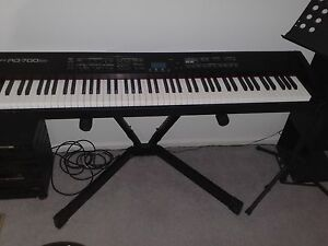 Roland 700SX Digital Stage Piano with Stand and Hard Cases Angle Vale Playford Area Preview