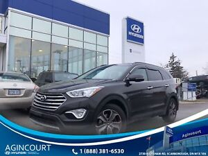 2016 Hyundai Santa Fe XL Luxury|LEATHER|PANOROOF|AWD|BCAM|REMOTE