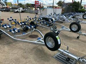 BOAT TRAILER SALE - Boat Jet Ski Single Dual Axle Trailers For Sale Coopers Plains Brisbane South West Preview