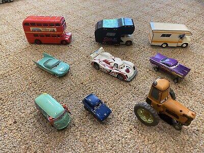 RARE Lot Disney Pixar Cars Diecast Vehicles - Larry Camper, Elvis, Mater Set