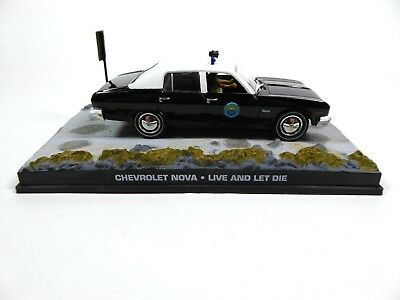 Chevrolet Nova Police - James Bond 007 - 1:43 Diecast Model Car DY043
