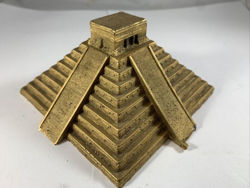 Scarce Microcosms Quetzalcoatl Pyramid, Mexico Souvenir Building