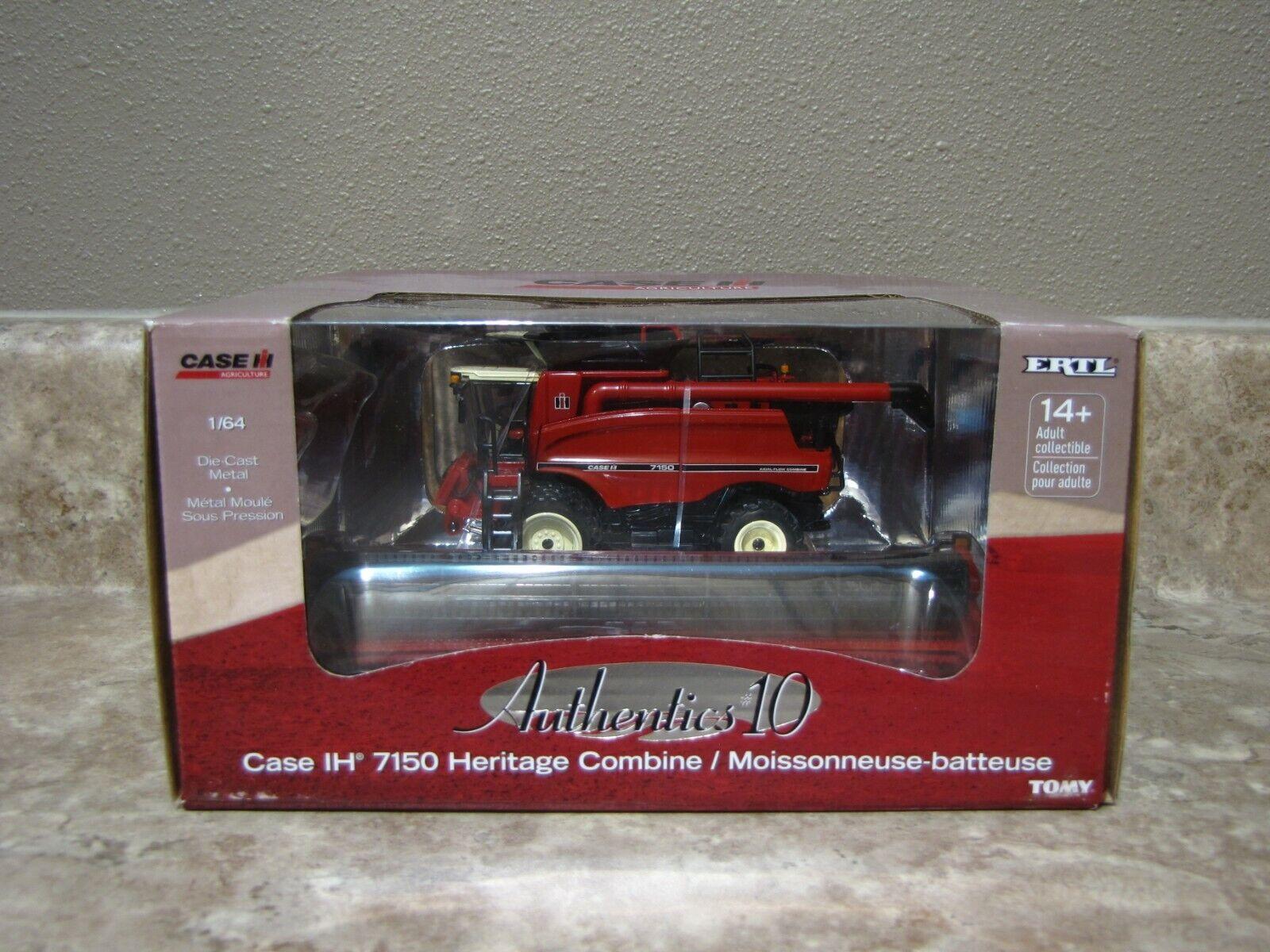 Ertl 1/64 Case IH 7150 Authentics Heritage Combine Farm Toy