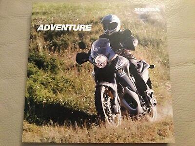 Honda Motorcycles - Adventure Brochure - 2011