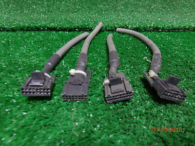 Motorola Pm400 Cm300 Pm400 Maxtrac Gm300 Radio 16 Pin Accessory Plug W 4 Leads