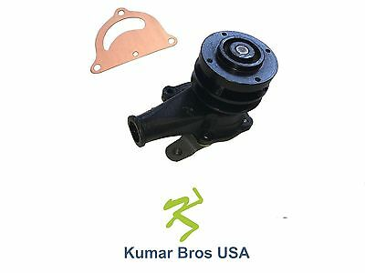 New Water Pump With Gasket And Pulley For Ford Tractor 2n 8n 9n Cdpn8501a