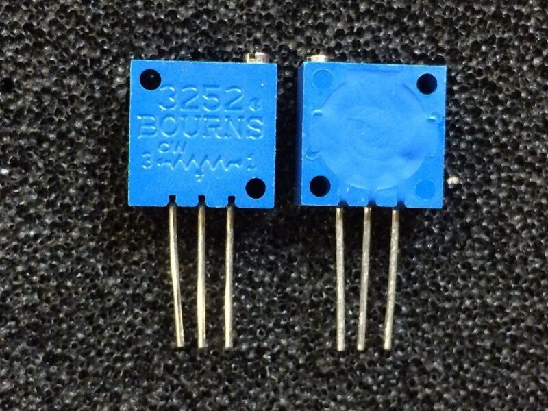 3252W-1-103LF BOURNS TRIMMER 10K OHM 0.75W PC PIN QTY: 1
