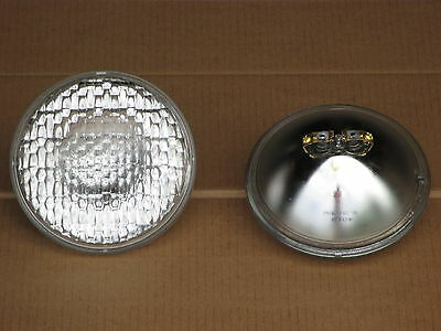 2 6v Headlights For Massey Ferguson Light Mf Te-20 Tea-20 To-20 To-30 To-35