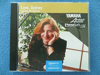 Yamaha Disklavier PianoSoft Piano Solo Love Sydney Floppy Disk    for sale  Glendale