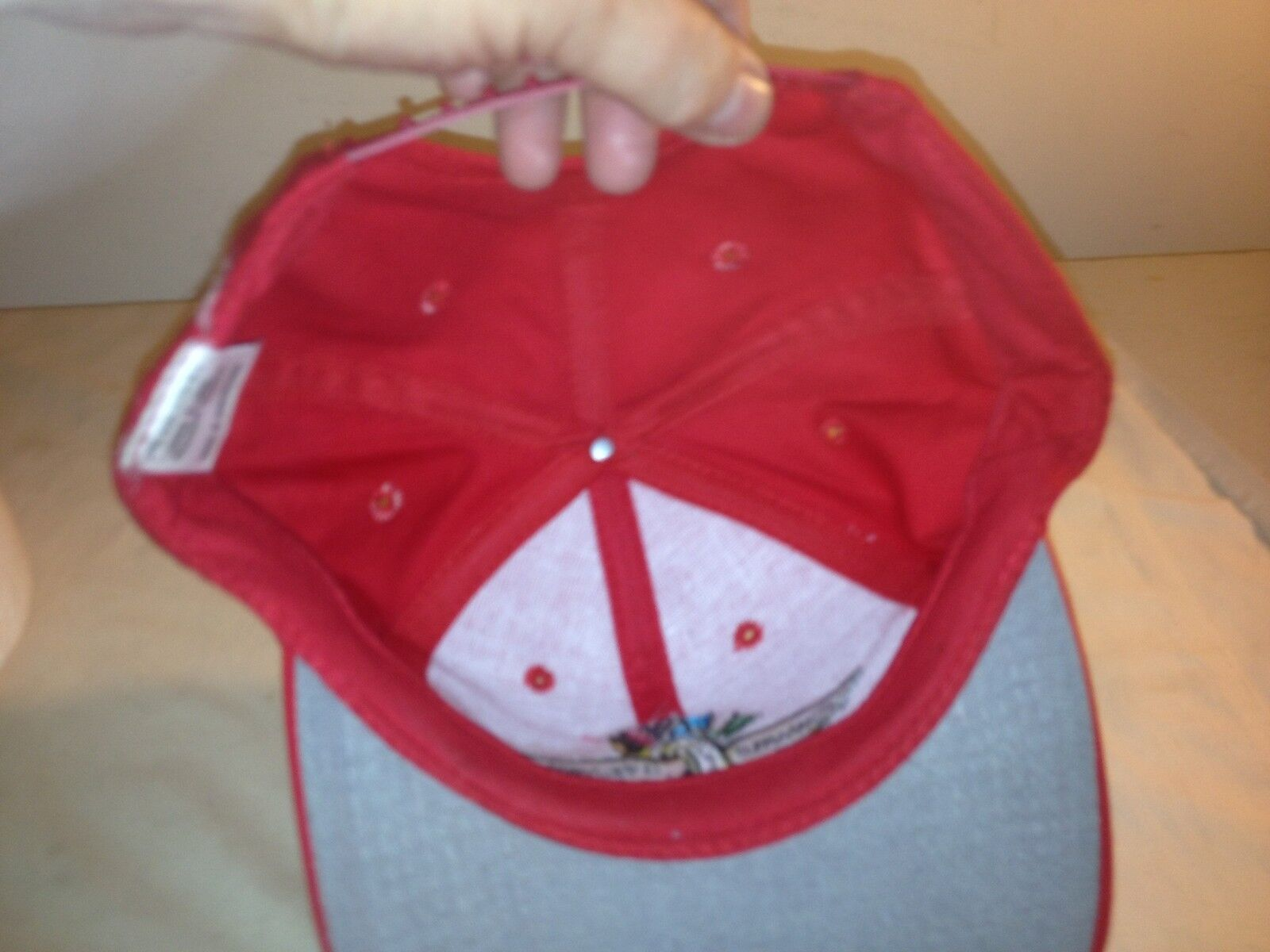 Logo 7 indianapolis motor speedway red snapback hat 11 for Indianapolis motor speedway clothing