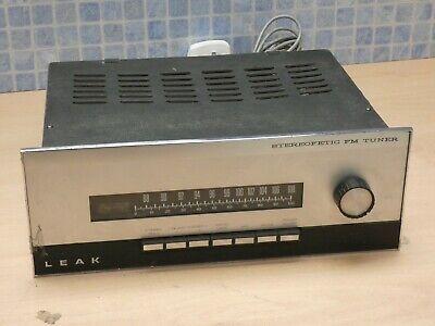 LEAK STEREOFETIC VINTAGE HI FI SEPARATES USE FM RADIO TUNER