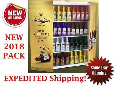 Anthon Berg Chocolate Liqueurs Original Spirits 64 Pieces  No Tax Fresh