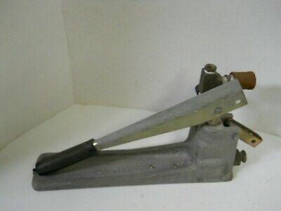 Wheeler Rex Manual Hydro-static Test Pump Ashtabula Ohio 300 Psi