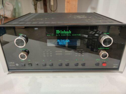 McIntosh MX151 A/V Control Center - MX151-51201 - USED