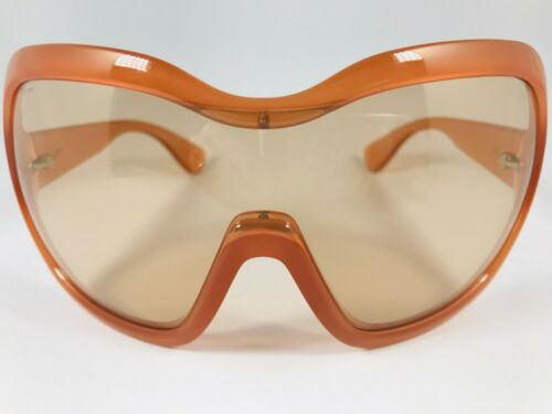 New PRADA Illusion sunglasses SPR 05O GAC-9N1 Shield Antique Pink / Orange