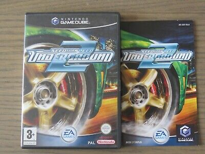 JEU NINTENDO GAMECUBE NEED FOR SPEED UNDERGROUND 2 COMPLET FR  GAME CUBE