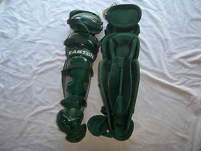 EASTON NATURAL  BASEBALL CATCHERS LEG GUARDS (VARIOUS SIZES & -