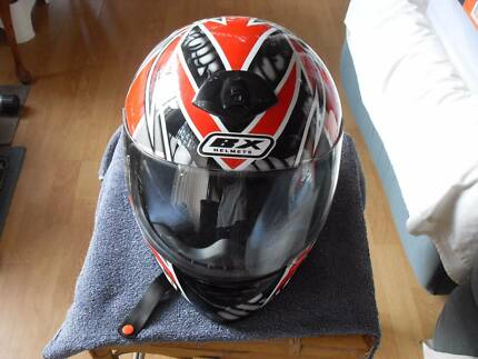 BW Motorcycle Helmet WS-33C. Size - Medium
