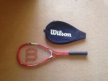 Wilson squash racket Port Macquarie 2444 Port Macquarie City Preview