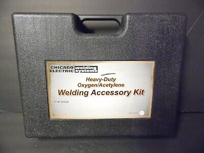 Chicago Electric Heavy Duty Oxygen Acetylene Welding Torch Welder Kit 98958