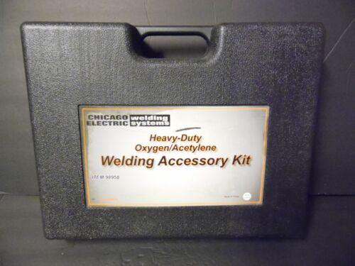 Chicago Electric Heavy Duty Oxygen Acetylene Welding Torch Welder Kit 98958