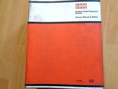 Case 100 200 400 600 Compact Tractor Factory Original Service Repair Manual Oem