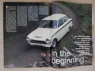 Lotus-Cortina MK.1 & Mk11 (Fact File) + RS2000   - (Fast Ford Mag.) - 1996