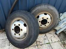 rims/tyres 9.5r17.5 hino isuzu jap truck Lesmurdie Kalamunda Area Preview