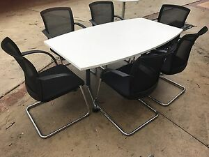 Boardroom table & Chairs Arcadia Hornsby Area Preview