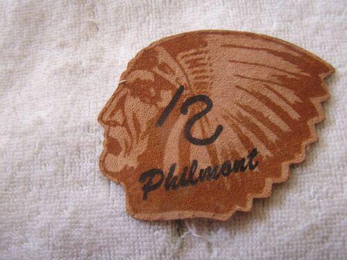 Vintage Philmont Leather Patch