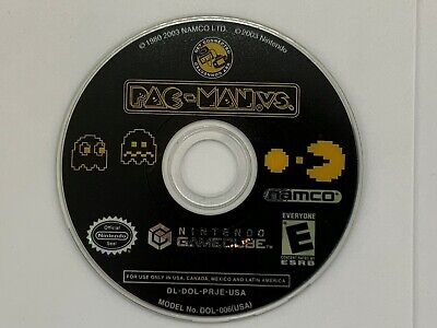 Pac-Man vs. (Nintendo GameCube, 2003) GAME DICS ONLY TESTED!!!!!