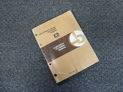 John Deere Fe290d Fe290r Fb460v Air Cooled Engine Service Repair Manual Ctm5