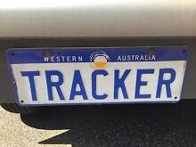 """Personalized plates """"TRACKER"""" Broome 6725 Broome City Preview"""