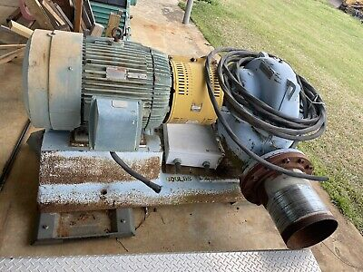 Goulds 100hp Electric Water Pump 10x12x12
