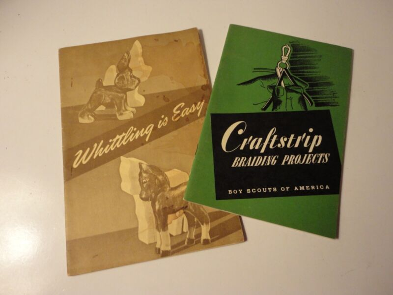 """Vintage BSA Craft  """"How to Booklets"""""""
