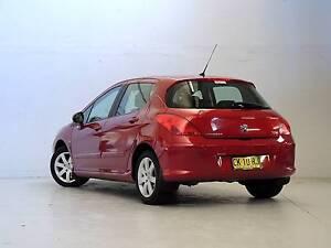 2009 Peugeot 308 Hatchback XSE AUTO Wickham Newcastle Area Preview