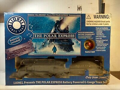 Lionel The Polar Express Christmas G Gauge Scale Train Set tr2175