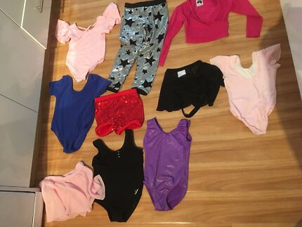 Dance, gymnastics Leotard size 3 - 4 bundle