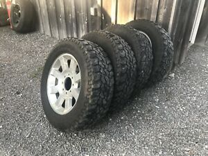 08 f350 rims and tires