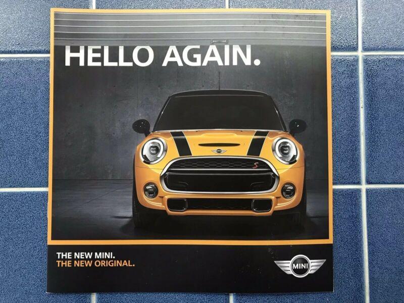 2014 All New BMW Mini Cooper Sales Brochure Catalog Prospekt