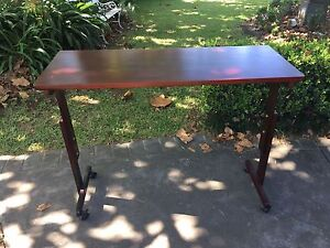 Over Bed/Chair Table  • On Castor Wheels • Adjustable Height Bomaderry Nowra-Bomaderry Preview