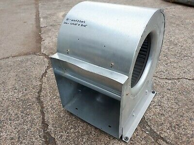 Oil Furnace Blower Motor Fan Housing Assembly Variable Speed Ac Motor Tested