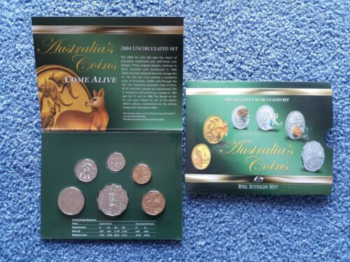 AUSTRALIA UNCIRCULATED COIN SET 2004