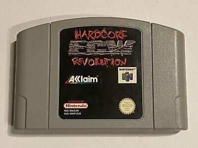 Nintendo N64 - ECW Hardcore Revolution - N64 cart - Wrestling Game