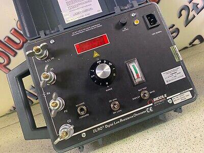 Avo Biddle 247001 Dlro Digital Low Resistance Ohm Meter Contact Resistance Test